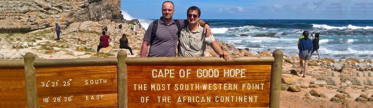 Pozdrav od Kama a Toma z Jižní Afriky